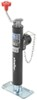 "Pro Series Round, Pipe-Mount Swivel Jack w/ Footplate - Topwind - 10"" Lift - 5,000 lbs"