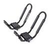 Swagman Contour Rooftop Kayak Carrier System with Tie-Downs - Fixed Arms - J-Style - Universal Mount