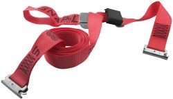 "Snap-Loc E-Track Tie-Down Strap w/ Cam Buckle and Soft Tie-Loop - 2"" x 16' - 1,000 lbs"