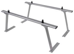 TracRac TracONE Truck Bed Ladder Rack for Toyota Tacoma - Fixed Mount - 800 lbs - Silver