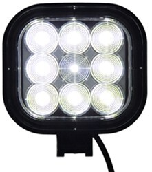 "Opti-Brite LED Floodlight - 9 Diode - Square - Black Plastic - 4-1/2"" x 4-15/16"""