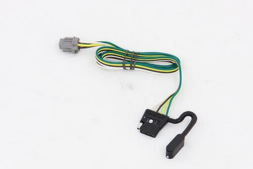 Trailer Wiring Harness For Xterra : Tow package vehicle wiring harness with pole flat
