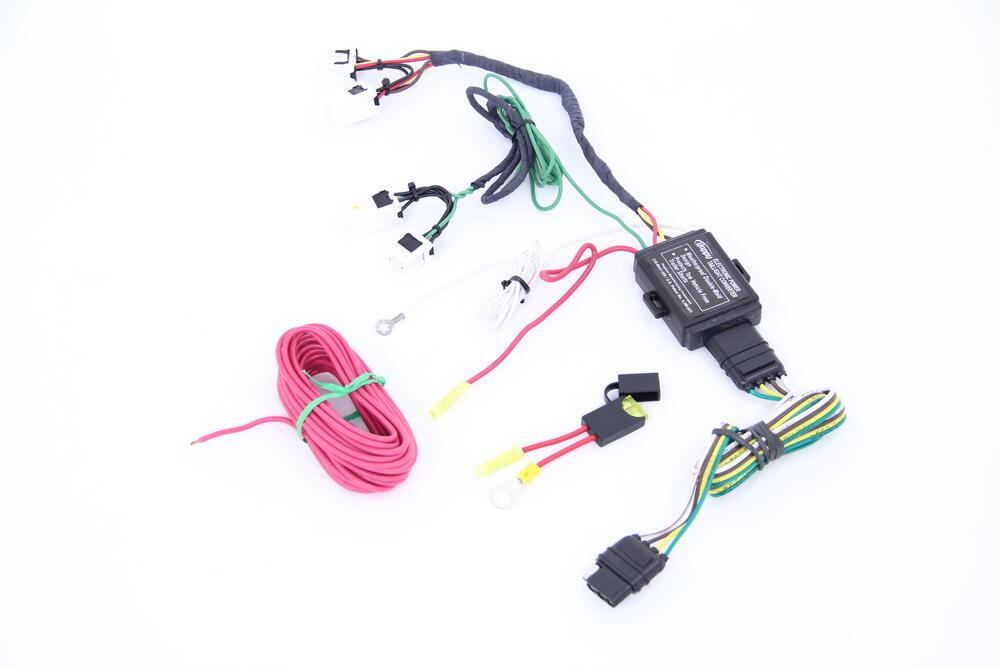 Trailer Wiring Harness For Xterra : Nissan xterra custom fit vehicle wiring hopkins