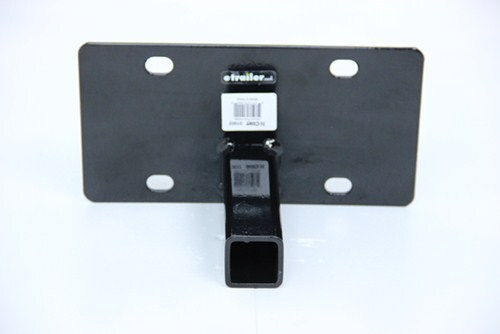 Curt Front Mount Trailer Hitch License Plate Holder Curt