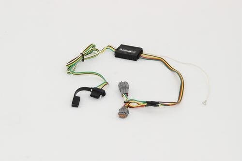 C55362_01_0001_500 curt t connector vehicle wiring harness with 4 pole flat trailer Curt 7 Pin Wiring Harness at bayanpartner.co