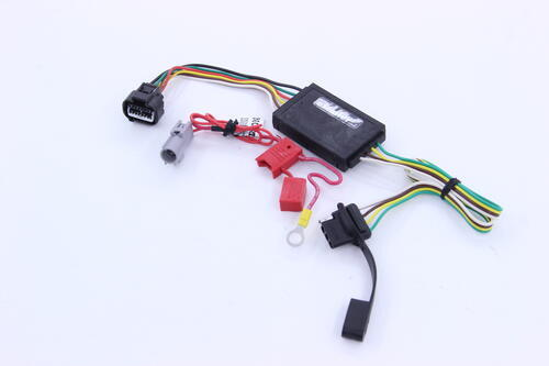 C55367_01_0001_500 curt t connector vehicle wiring harness with 4 pole flat trailer 2016 Isuzu NPR Gross Vehicle Weight at alyssarenee.co