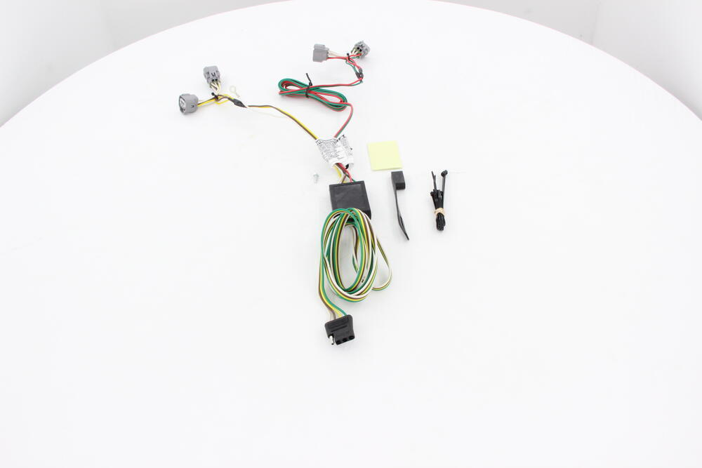 toyota tacoma trailer wiring connector diagram 2013 toyota tacoma custom fit vehicle wiring - curt 2013 toyota tacoma trailer wiring