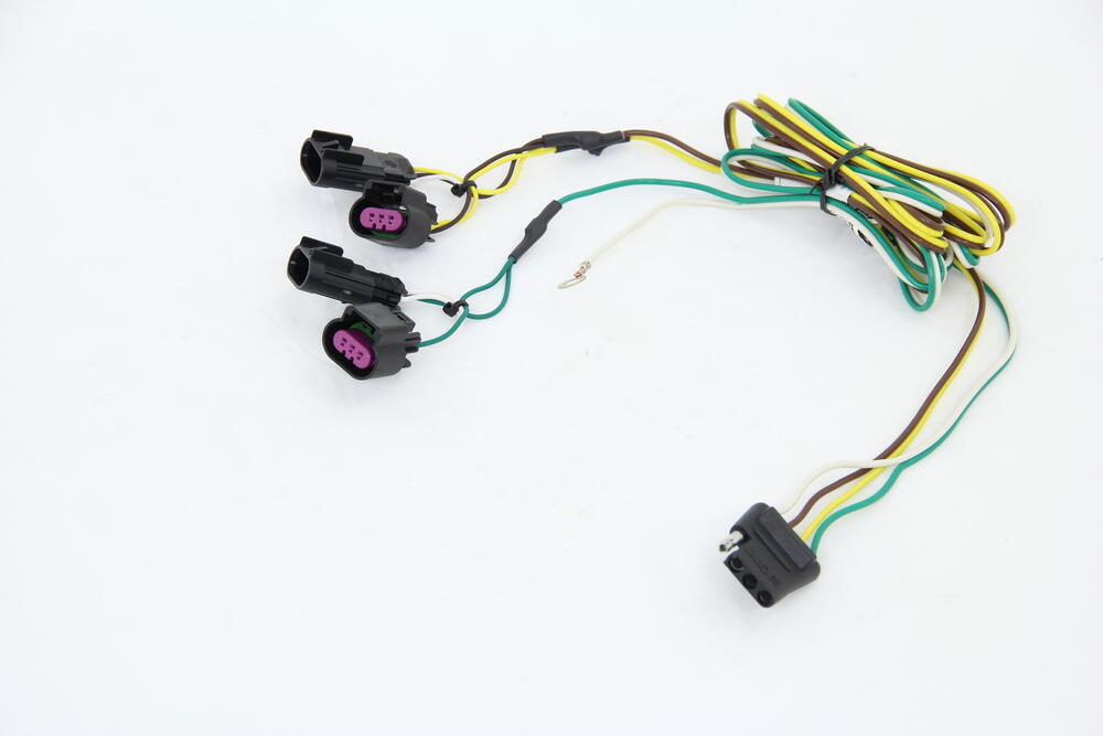 2011 chevrolet traverse custom fit vehicle wiring curt Chevy Traverse Trailer Hitch trailer wiring harness for 2012 chevy traverse
