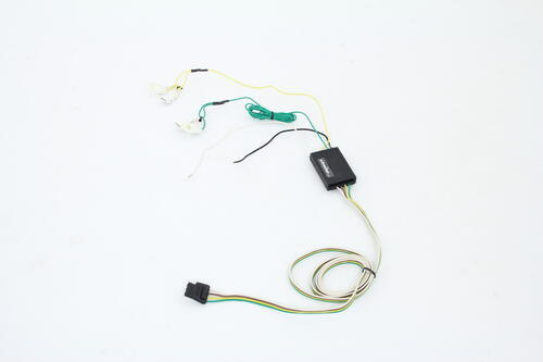 2007 Nissan Murano Curt T-Connector Vehicle Wiring Harness with 4-Pole Flat Trailer Connector