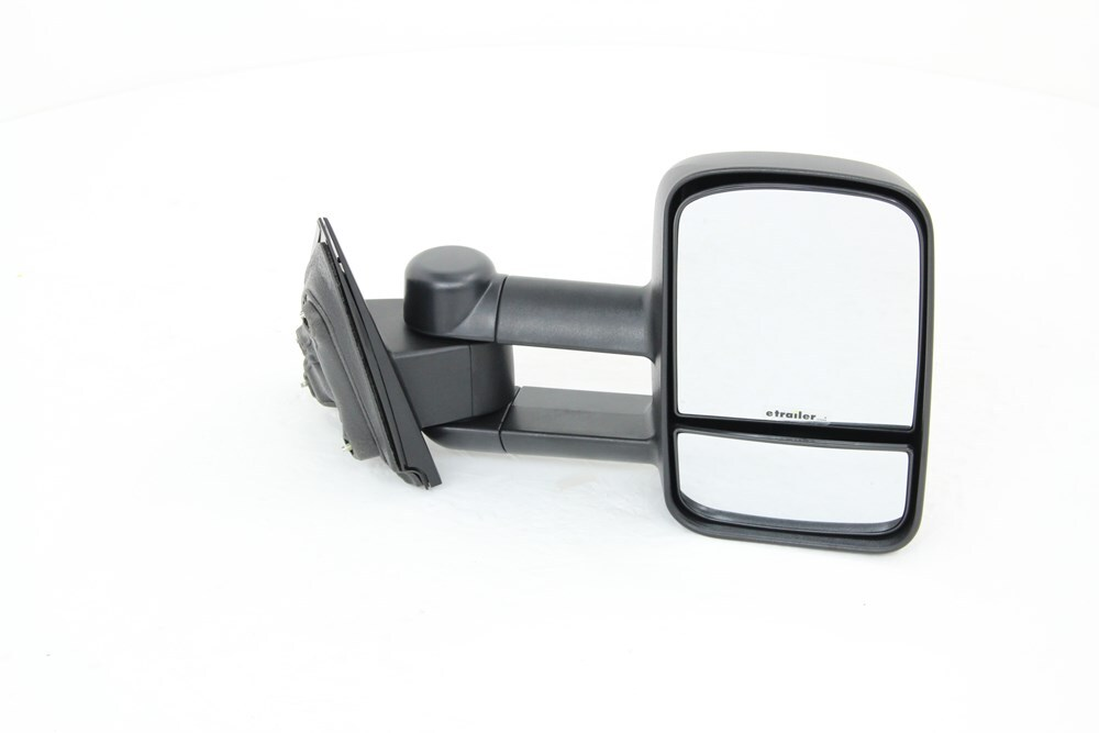 k source custom towing mirrors for chevrolet silverado 1500 2014 ks62137g. Black Bedroom Furniture Sets. Home Design Ideas