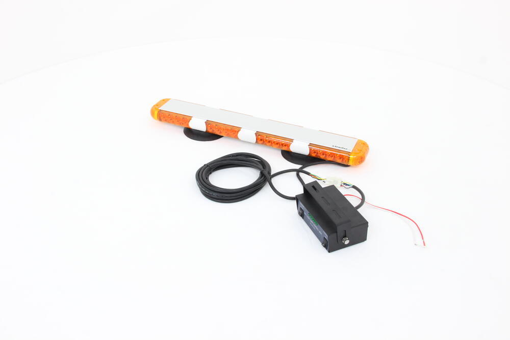 Custer 40 Led Light Bar W Controller Box Magnet Suction