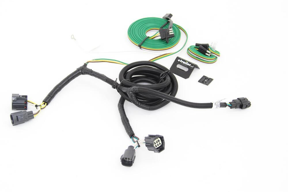 2004 Jeep Wrangler Trailermate Custom Tail Light Wiring Kit For Towed Vehicles