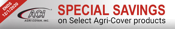 Special Savings on Select Agri-Cover Products