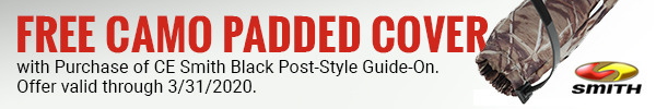 Buy a Post Style Guide on and get a free Camo Padded Cover