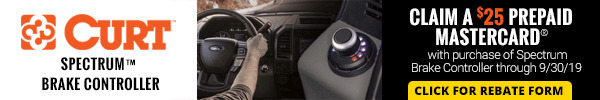 Claim a $25 Prepaid Mastercard with purchase of Spectrum Brake Controller
