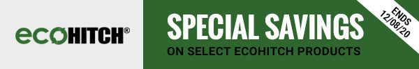Special Savings on Select EcoHitch Products Ends 12/08/20