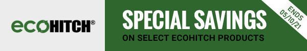 Special Savings on Select EcoHitch Products Ends 5/10/21