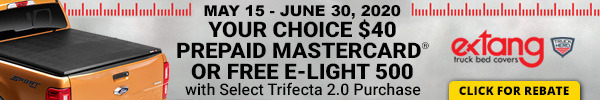 Your Choice $40 Prepaid Mastercard or Free E-Light 500 with Select Trifecta 2.0 Purchase