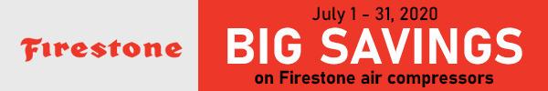 Big Savings on Firestone Air Compressors