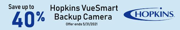 Save up to 40% Hopkins VueSmart Backup Camera Offer Ends 5/31/2021