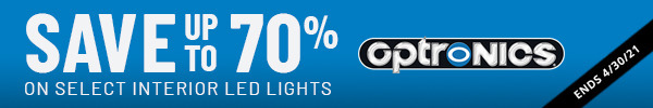 Save up to 70% on select interior LED lights ends 4/30/21