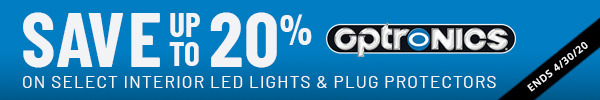 Save up to 20% on Select Optronics interior LED Lights