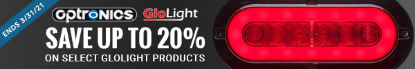 Save up to 20% on select Glolight banners ends 3/31/21