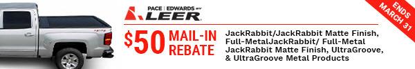 $50 Mail-in Rebate JackRabbit/JackRabbit Matte Finish, Full-Metal Jackrabbit/Full-Metal JackRabbit Matte Finish, UltraGroove, & UntraGroove Metal Products Ends March 31