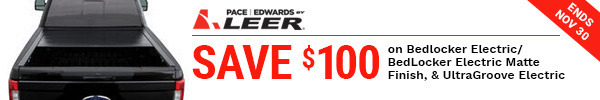Pace Edwards $100 in cart discount on select banners