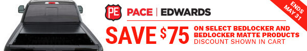 Receive a $50 Rebate on Select Pace Edwards BedLocker Products