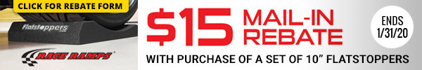 Claim a $15 Rebate with Purchase of 10 Inch FlatStoppers