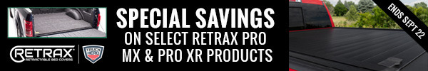 Special Savings on Select Retrax Pro MX and Pro XR products