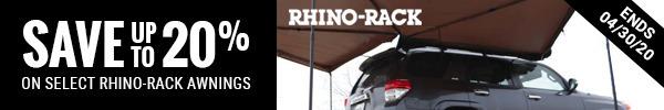 Save 20% on Select Rhino Rack Awnings