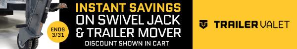 Save Now on Trailer Valet Swivel Jack