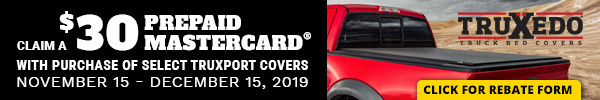 Claim a $30 Prepaid Mastercard With Purchase of Select TruXport Covers