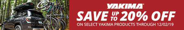 Save Up to 20% on Select Yakima Products