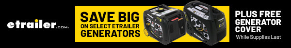 Save Big on Select etrailer Generators - Plus Free Generator Cover