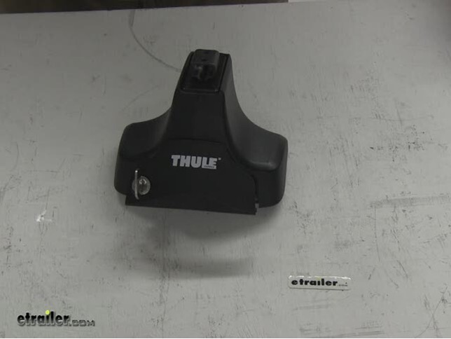 How To Remove A Thule Lock Cylinder Using A Universal Change Key # 853 1251  | Etrailer.com