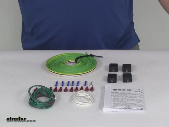 blue ox tow bar wiring kit 4 diodes