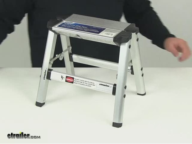 Compare Camco Folding Step Vs Adjustable Height