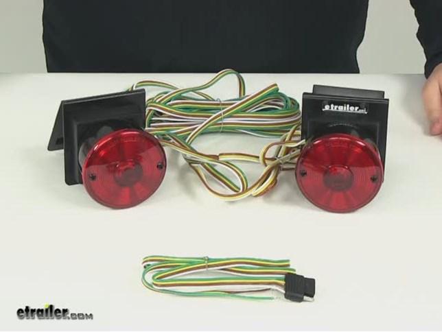 custer tow bar wiring ezt20b review video etrailer com rh etrailer com Tow Lights Wiring Wiring- Diagram