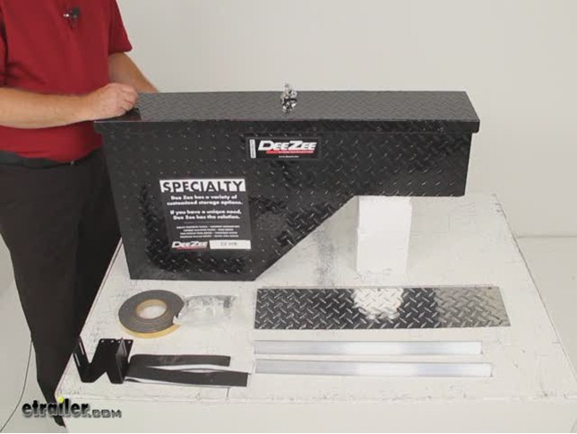 Deezee Specialty Series Driver S Side Wheel Well Toolbox