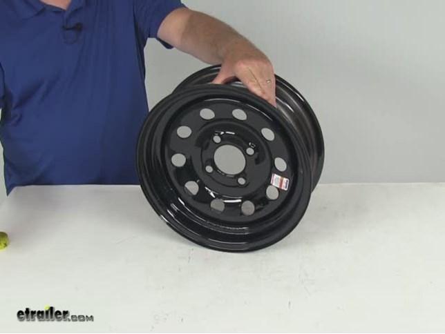 Dexstar Steel Mini Mod Trailer Wheel 13 Quot X 4 1 2 Quot Rim