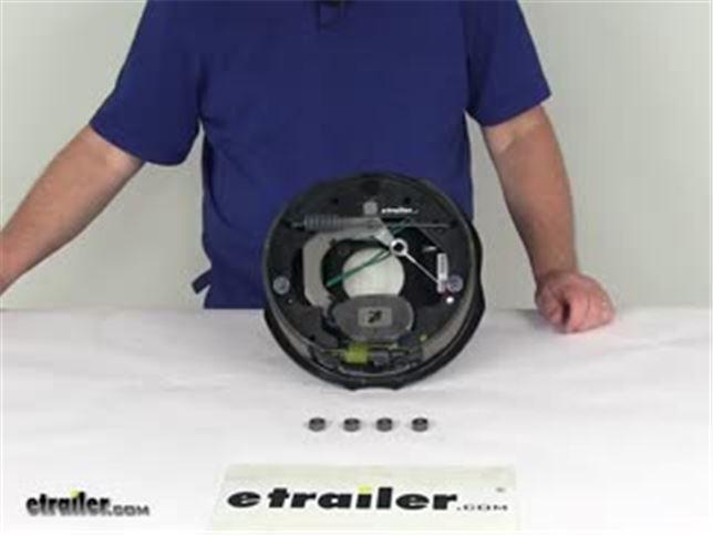 Video Of Dexter Nev R Adjust Electric Trailer Brake Embly 10 Left Hand 3 500 Lbs