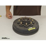 Dexter Axle Trailer Hubs and Drums - Hub with Integrated Drum - 8-385-81SP Review