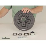 Video Demo Dexter Trailer Hubs and Drums 84546UC3 EZ