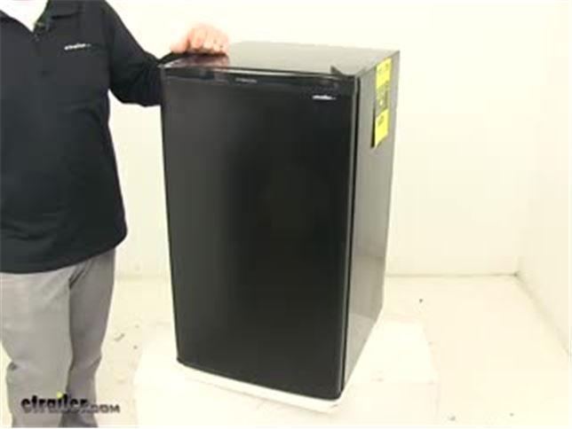 Everchill Refrigerator For Rvs Black 3 2 Cu Ft