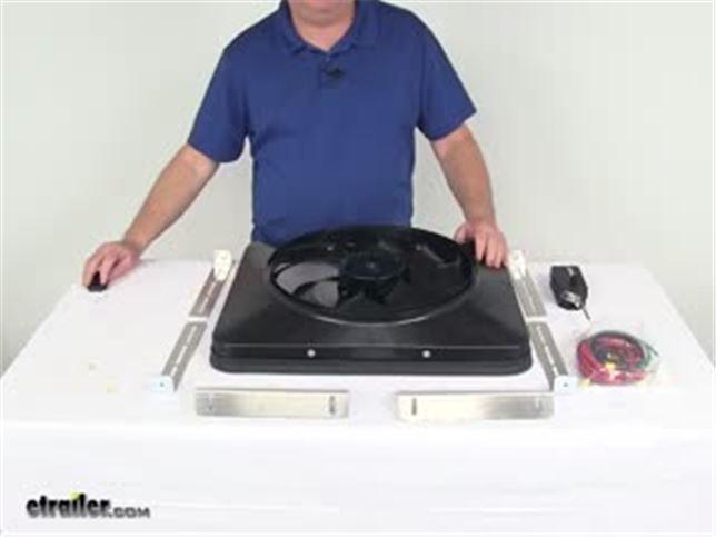 Flex-a-lite 180 Black Magic X-treme 15 Reversible Electric Fan