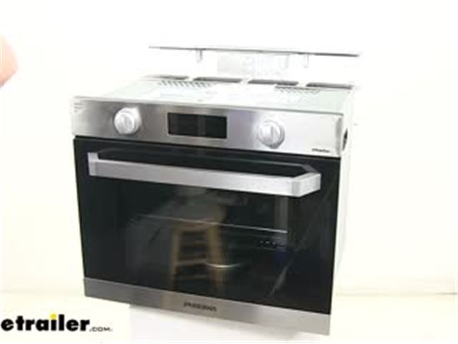 Furrion Rv Wall Oven With Led Knobs Gas Stainless