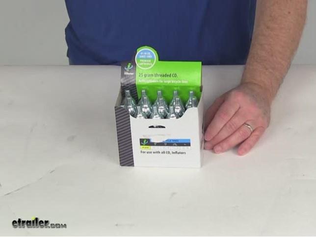 Genuine Innovations Co2 Cartridge Threaded 25 G